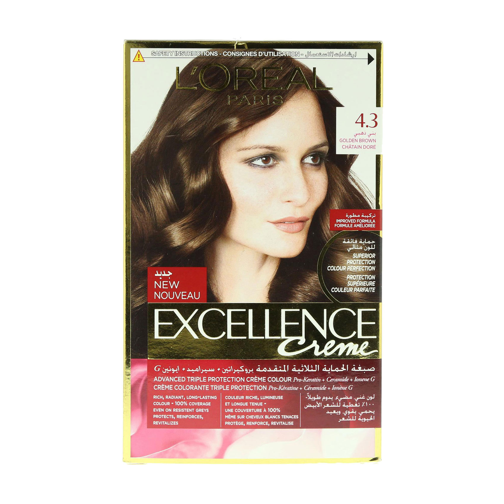 EXCELLENCE 4.3 GOLDEN BROWN