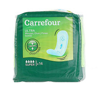 Carrefour Pads Ultra Super Thin x14