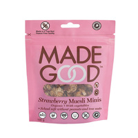 Made Good Strawberry Muesli Minis 100g