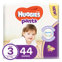 Huggies Pants Diapers Size 3 6-11 kg 44 Count