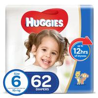 Huggies Superflex Jumbo Pack Size 6 15+ kg 62 Count