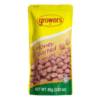 Growers Honey Roasted Peanuts 80g