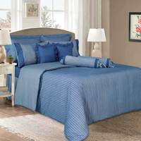 Cannon Full Comforter 4pc Set Blue