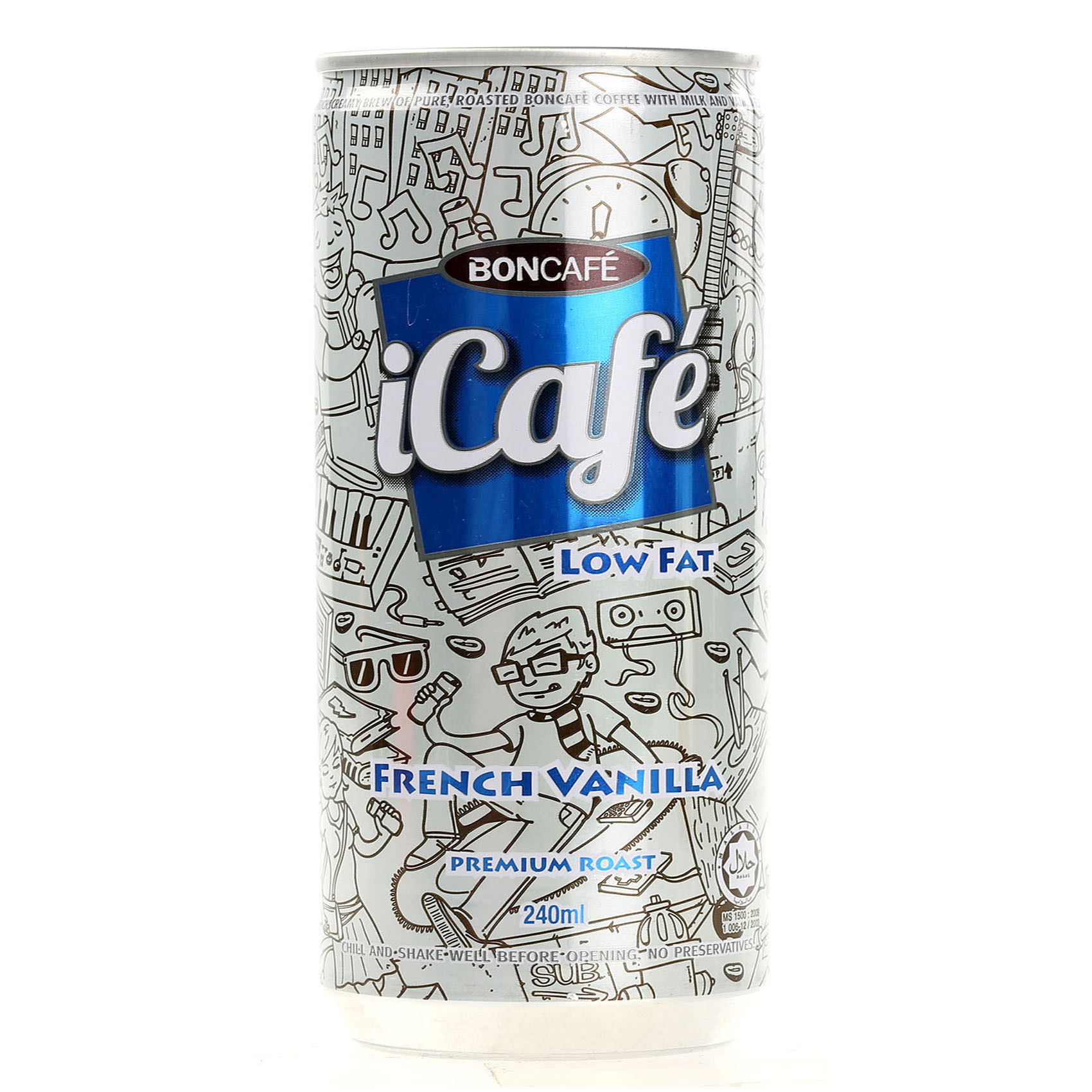 ICAFE ICED FRENCH VANILLA 240ML
