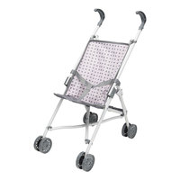 Aimantine My Stroller Cane - Gray and Pink