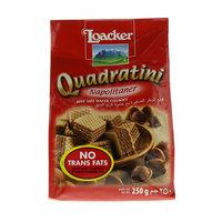 Loacker Quadratini Bite Size Wafer Cookies 250 g