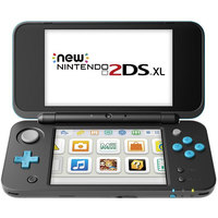 Nintendo New 2DSXL Black&Turquoise+2 Assorted Games