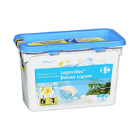 Carrefour Lessive Lagon Bleu 24.5ML X 18