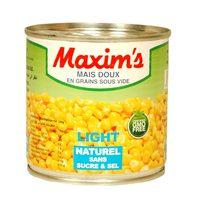 Maxim's Whole Sweet Corn Light 250g