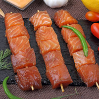 Salmon Skewers Teriyaki Marinate 300g