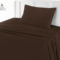 Tendance's Flat Sheet Single Dark Brown 160X240