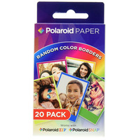 Polaroid Photo Rainbow Frame Zink 2X3 20 Pack