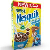 Nestlé Nesquik Chocolate Hearts Breakfast Cereal 335 g