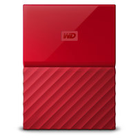 WD Hard Disk 2TB My Passport Red Worldwide