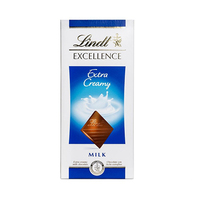 Lindt Excellence Extra Creamy Milk Chocolate 100GR