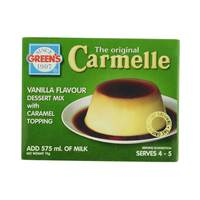 Green's Vanilla Flavour Dessert Mix with Caramel Topping 70 g