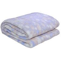 3D Super Soft Flannel Blanket Single Grey
