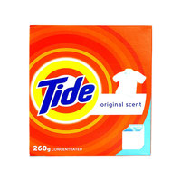 Tide Topload Detergent Powder Original Scent 260g