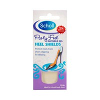Scholl Invisible Gel Party Feet Heel Shields