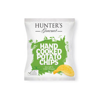 Hunter's Gourmet Hand Cooked Potato Chips Sea Salt & Cider Vinegar 40g