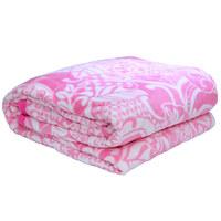 3D Super Soft Flannel Blanket King Pink