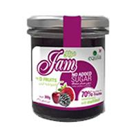 Equia Jam Red Fruits Sugar Free 300GR
