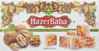 Hazer Baba Sadrazam Turkish Delight with Walnut 454g