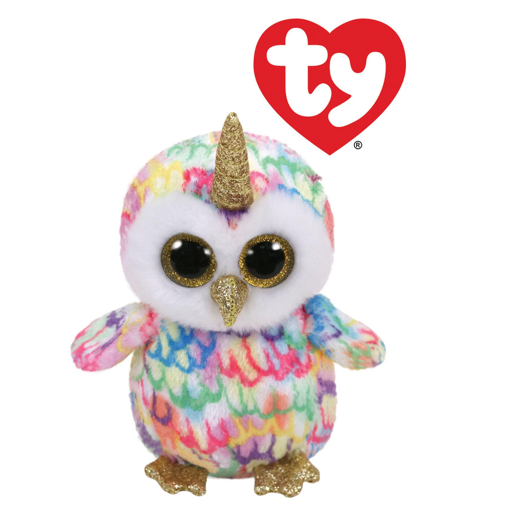 BEANIE BOOS OWL ENCHANTED W/HORN8