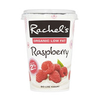 Rachel's Organic Low Fat Raspberry Yogurt 450g