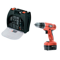 Black&Decker Cordles Dril 12V+Kit Box+100 Accessories