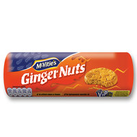McVitie's Ginger Nuts Crunchy Biscuits 250g
