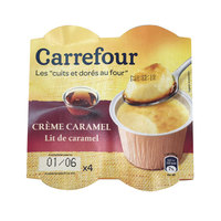 Carrefour Creme Caramel 100gx4