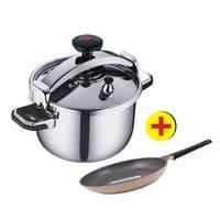 Korkmaz alumanium Prusser cooker 13 Liter + Neoflam Frypan 32 Cm Free