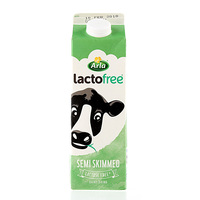 Arla Lactofree Fat Semi Skim Milk 1l
