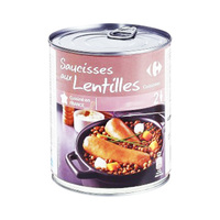 Carrefour Raviolis Sausage With Cooked Lentils 4/4