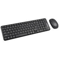 Xcell Keyboard-Mouse Combo Wireless KB200 Black