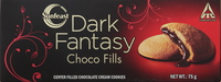 Sunfeast Dark Fantasy Choco Fills Chocolate Cream Cookies 75g