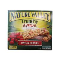 Nature Valley Crunchy And More Oats And Berries Granola Bars 210 g