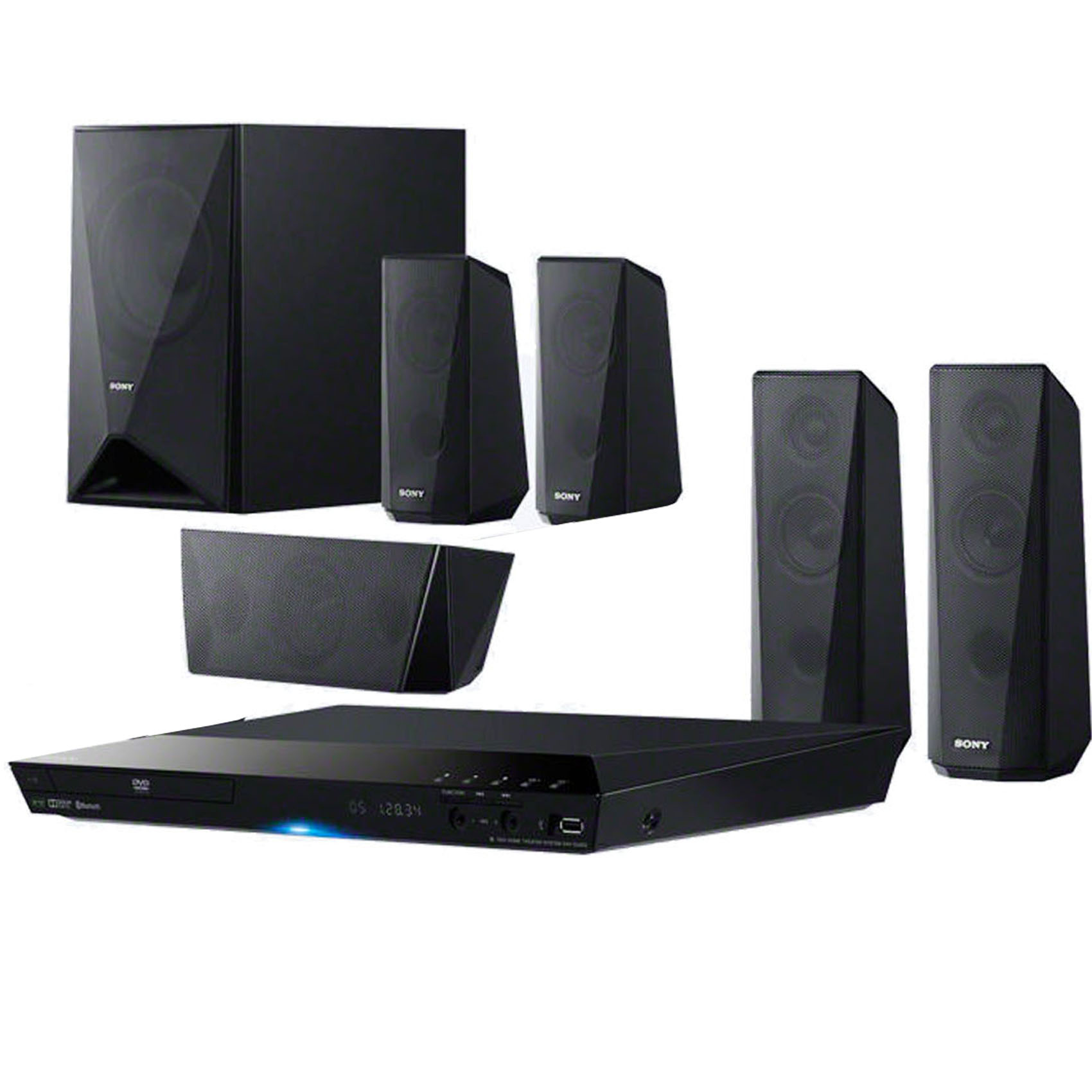 buy sony home theater 5 1 dav dz350k online in uae carrefour uae. Black Bedroom Furniture Sets. Home Design Ideas