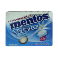 Mentos White Chewing Gum Sugarfree with Xylitol 17g