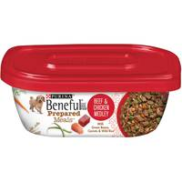 PURINA BENEFUL Prepared Dog Food Meal Beef and Chicken Medley Tub 283g