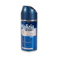 Malizia Deodorant Unisex Sport No Alcohol Body Spray 150ML