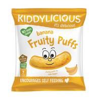 Kiddylicious Banana Fruit Puffs 40g