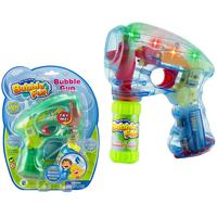 Power Joy Bubble Gun Light & Sound 2oz