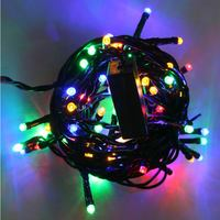 Indoor Hv Garland 64Multi Led With Flash 5M N4