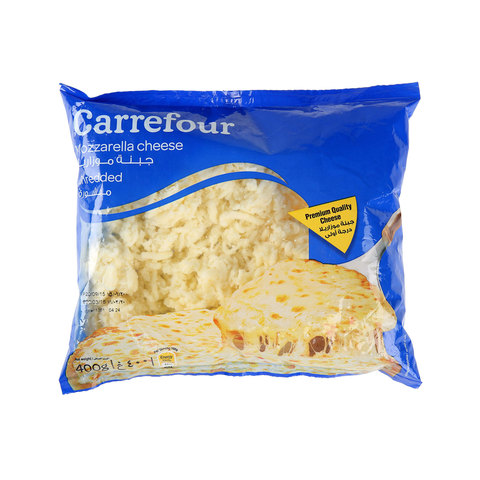 Carrefour-Mozzarella-Shredded-Cheese-400g