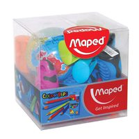 Maped Sharpener 12Pcs Assorted