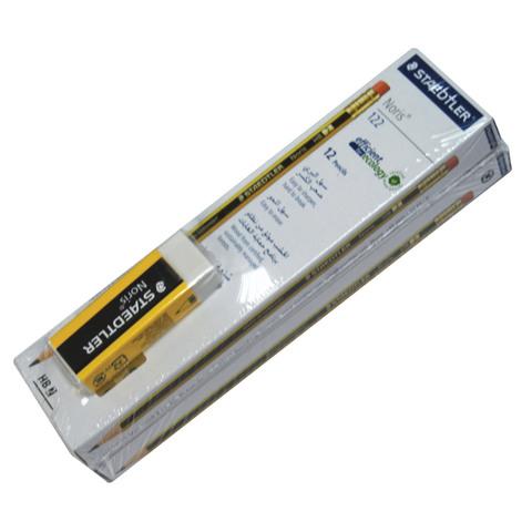 Staedtler-Noris-pencil-2Pkt+Eraser