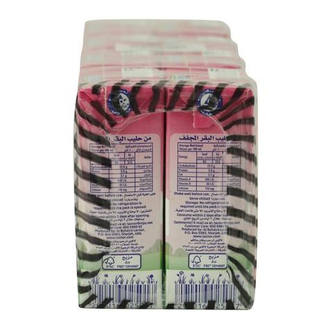 Lacnor-Essentials-Strawberry-Flavour-Milk-125ml-x-8